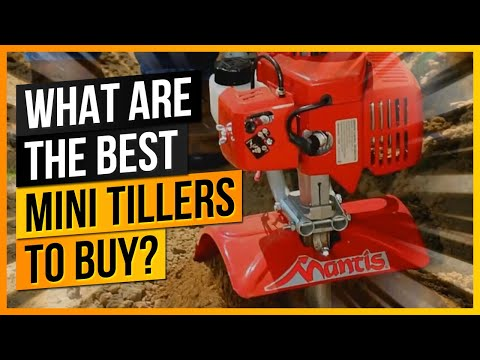 What Are The Best Mini Tillers to Buy?