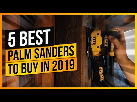 What Are The Best Palm Sanders to Buy?