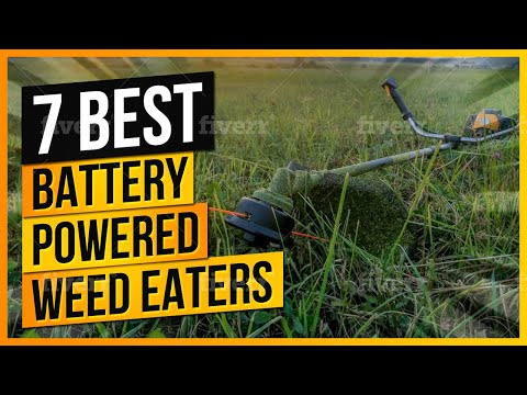 What Are The Best Battery Powered Weed Eaters to Buy?