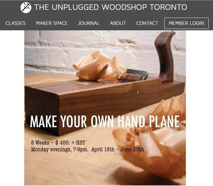 Unplugged Wood Shop