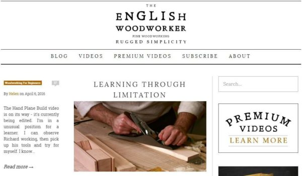 english woodworker