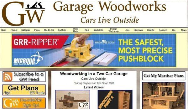 garage woodworks