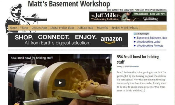 matt basement workshop