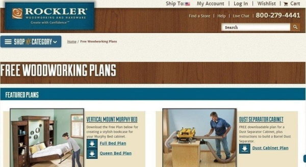 Rockler-Free woodworking plan