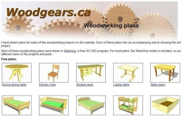 Free woodworking plans top 17 blogs you must read if you have worked on wood for a long time the free plans offered on wood gears will be your keyboard keysfo Choice Image