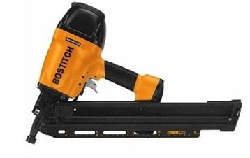BOSTITCH F28WW Clipped Head 2-inch to 3-12-inch Framing Nailer with Magnesium Housing