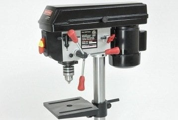 Craftsman 8 Inch Benchtop Drill Press Review