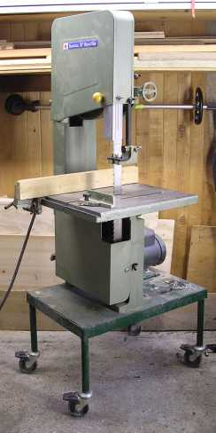 Stand mounted band saw