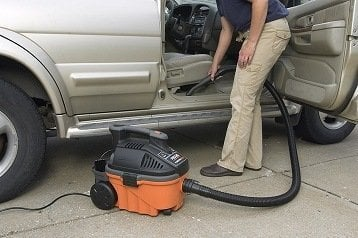 Wet-dry shop VAC for home