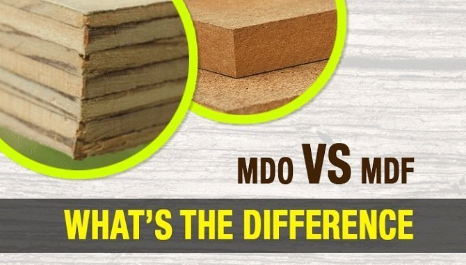 High Density Overlay Plywood ~ Mdo vs mdf what s the difference