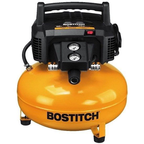 Bostitch BTFP02012 Oil-Free Portable Air Compressor