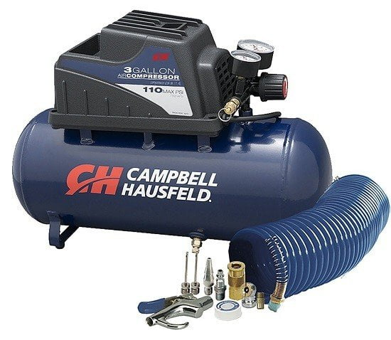 Campbell Hausfeld 3-Gallon Portable Air Compressor