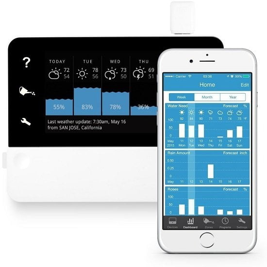RainMachine Touch HD-12 Wi-Fi Irrigation Controller