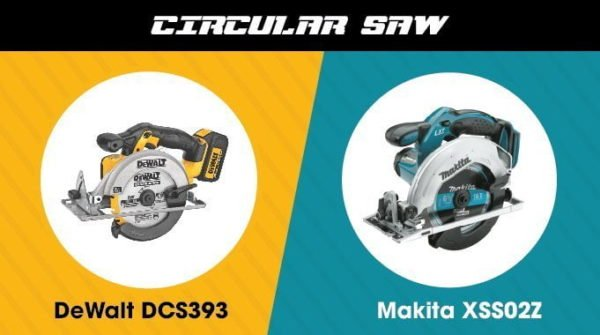 4. Makita vs. DeWalt - Circular Saw