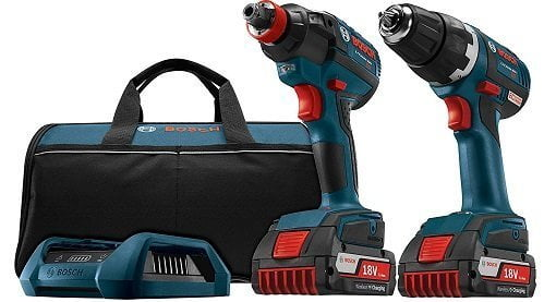 Bosch CLPK233WC-02 18V Drill Driver Combo Kit