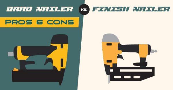 Brad Nailer vs. Finish Nailer- Feature Image