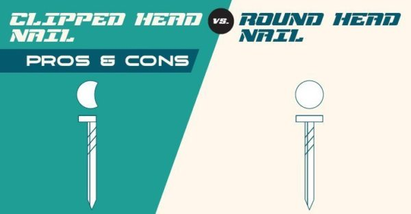 Clipped Head vs. Round Head