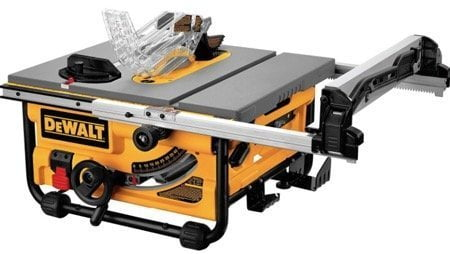 DeWalt DW745 Jobsite Table Saw