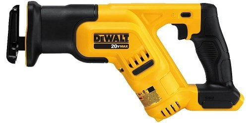 Dewalt DCS387B 20V MAX Compact Cordless Reciprocating Saw