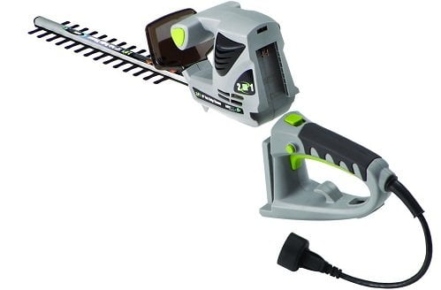 Earthwise 2.8-Amp 18-Inch 2-in-1 Corded Electric Pole/Hand-Held Hedge Trimmer