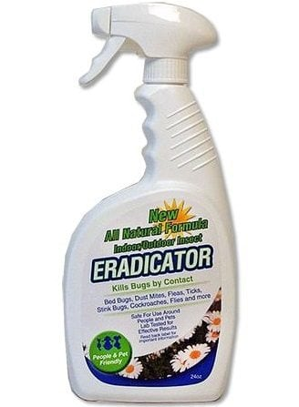 Eradicator Natural Multi-Insect, Bed Bugs, Fleas, Ticks, Stink Bugs Spray