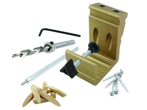 General Tools 850 Pro Pocket Hole Jig Kit