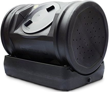 Good Ideas EZCJR-BLK 7-Cubic-Foot Composter