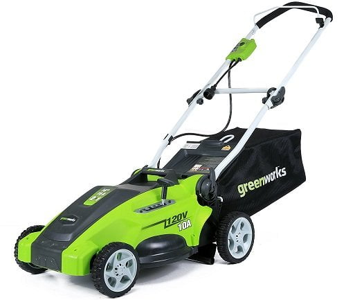 GreenWorks 25142 16-Inch 10-Amp Corded Lawn Mower
