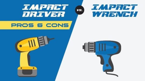 Impact Driver vs Impact Wrench