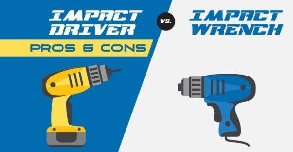 Impact Driver vs. Impact Wrench