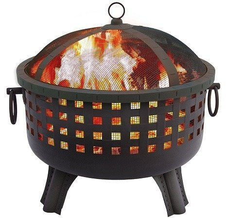 Landmann 26364 Savannah Garden Light Fire Pit