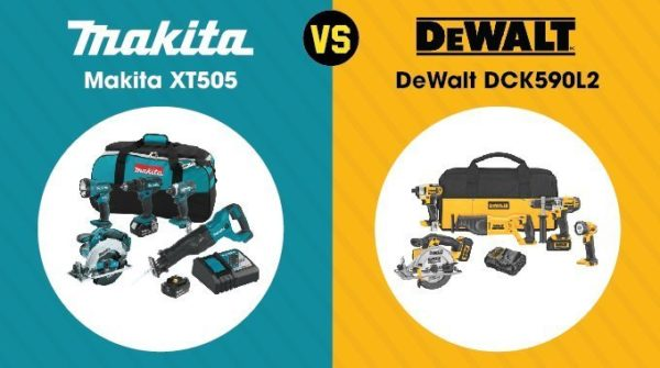 Makita vs. DeWalt - Combo