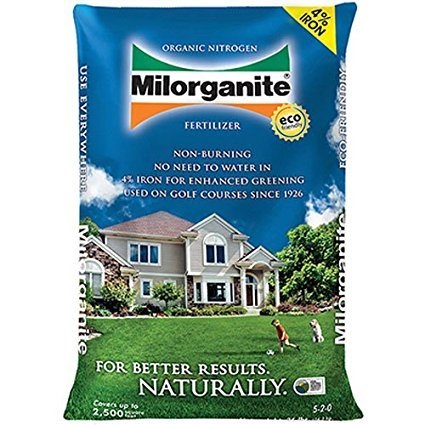 Milorganite 0636 Organic Nitrogen Fertilizer