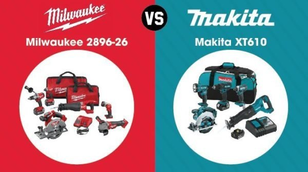 Milwaukee vs. Makita - Combo