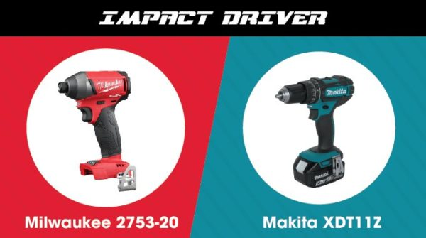 Milwaukee vs. Makita - Impact Driver