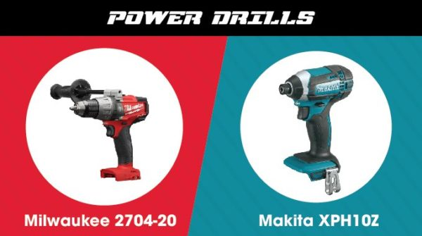 Milwaukee vs. Makita - Power Drill