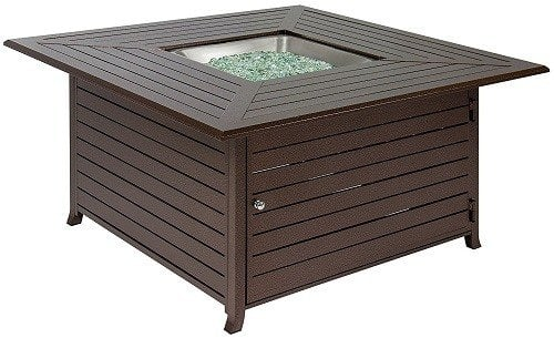 Outdoor Fire Pit Table With Cover