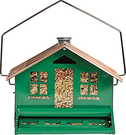 Perky-Pet 339 Squirrel-Be-Gone II Feeder Home with Chimney