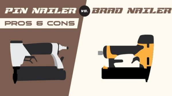 Pin Nailer vs  Brad Nailer: Which is Better for You?