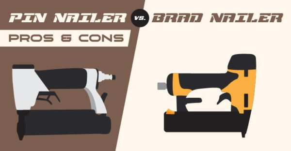 Pin Nailer vs. Brad Nailer