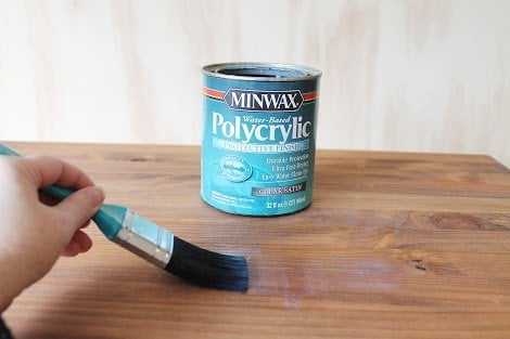 Polycrylic vs polyurethane pros cons for Wood stain pros and cons