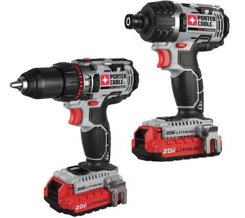 Porter-Cable PCCK602L2R Cordless Combo Kit