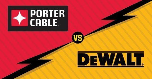 Porter Cable Vs Dewalt Who Wins