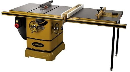 wermatic 1792001K PM2000, 3HP Cabinet Table Saw