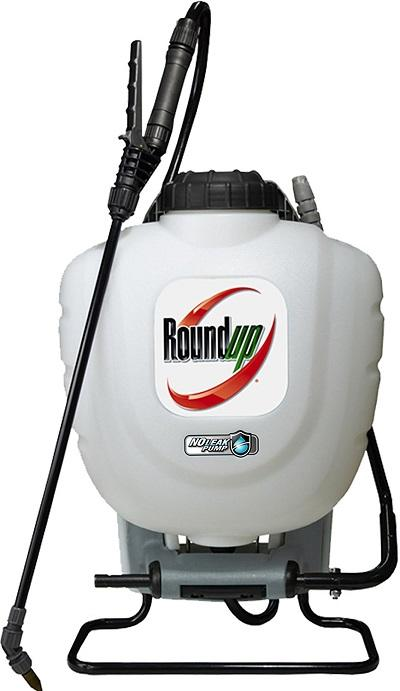 Roundup 190327 Backpack Sprayer With No Leak Pump