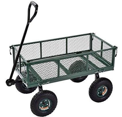 Sandusky Lee CW3418, Muscle Carts, Steel Utility Garden Wagon