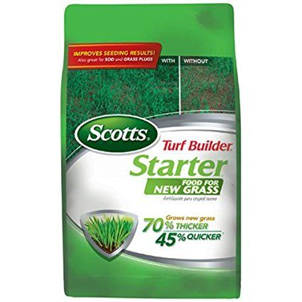 Scotts Turf Builder Lawn Food - Starter Food for New Grass
