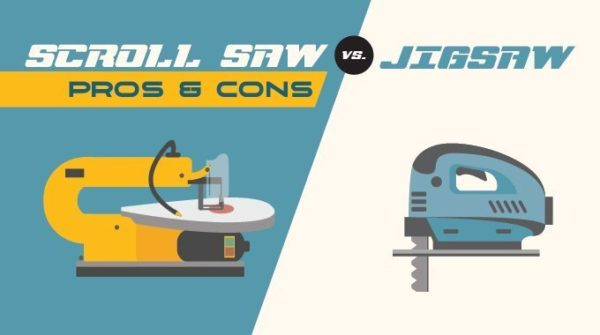 Scroll Saw vs Jigsaw
