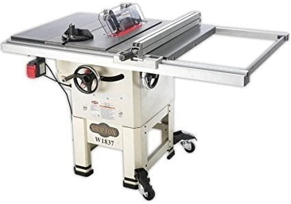 "Shop Fox W1837 10"" Open-Stand Hybrid Table Saw"