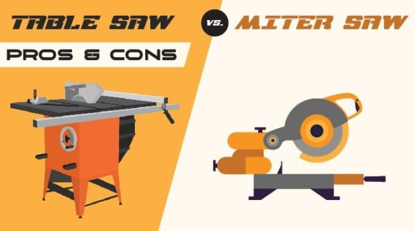 Table Saw vs. Miter Saw